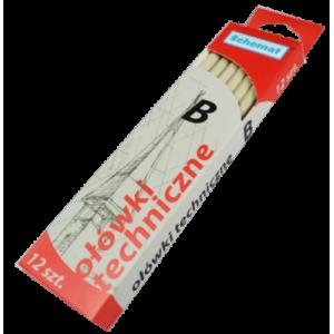Ołówek techniczny B  v