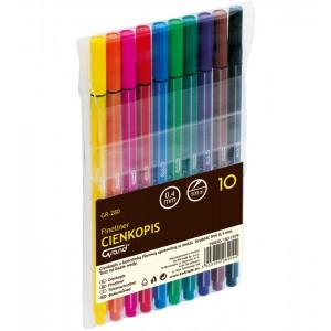 Cienkopis GR-280 10 kolorów