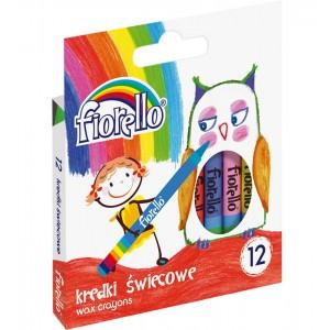 Kredki świecowe FIORELLO 12...