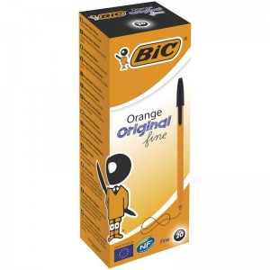 Długopis BIC ORANGE czarny