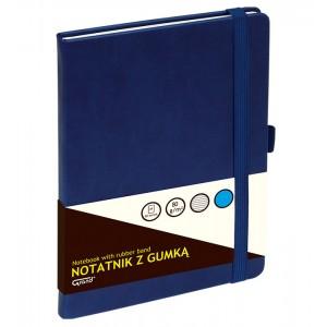 Notatnik A5/80 z gumką GRAND