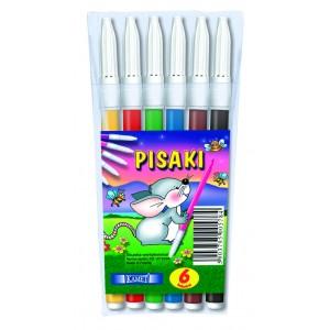 Pisaki w etui 6 kolorów KAMET