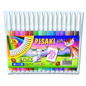 Pisaki w etui 16 kolorów KAMET