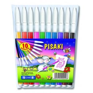 Pisaki w etui 10 kolorów KAMET