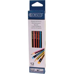 Ołówek trójkątny HB CRESCO