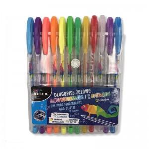 Długopisy żelowe mix 12...