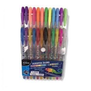 Długopisy żelowe 24 kolory...