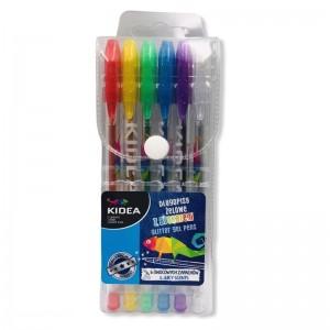 Długopis żelowy z brokatem...