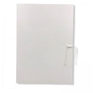 Teczka wiązana biała 250g