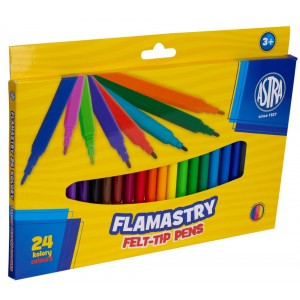 Flamastry 24 kolory ASTRA