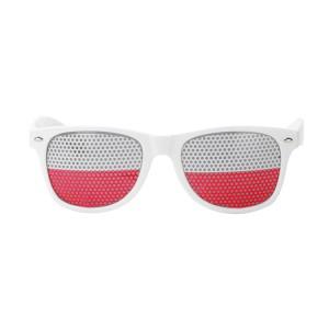 Okulary Biało-Czerwone  SP5078
