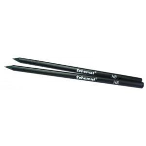 Ołówek trójkątny czarny 2611