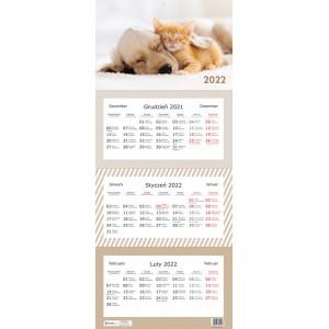 Kalendarz trójdzielny...