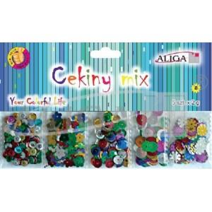 Cekiny MT-6351 mix 5szt