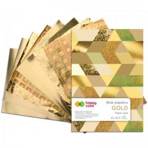 Blok GOLD A5/10ark.150-230g...