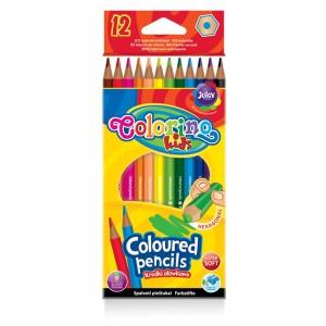 Kredki 12 kolorów COLORINO