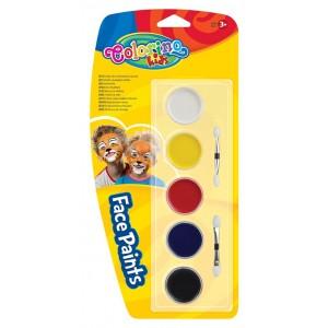 Farby do malowania twarzy...