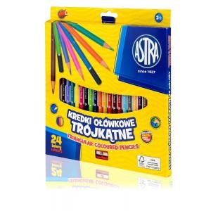 Kredki ołówkowe 24 kolory...